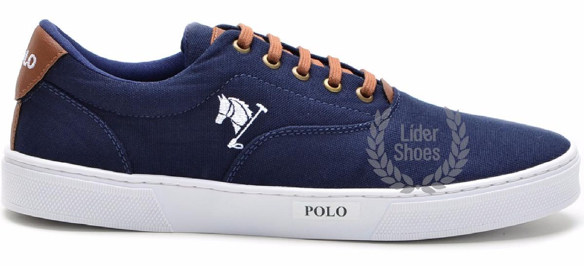 822535164 Sapatenis Polo Bra Sapato Tenis Bonito Masculino Top!!! - R  82