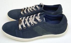 830cc7fb8c9 Sapatenis Raphael Steffens Teen Couro 100% Azul Esc Consulte