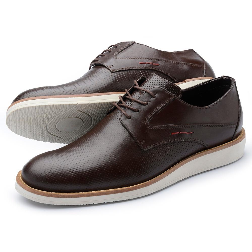 e03907ec9 sapatenis sapato social masculino em couro franca moda. Carregando zoom.