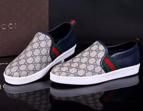 0d28e8dbb Sapatenis Tenis Canvas Gucci Masculino - Encomenda - R$ 499,00 em ...