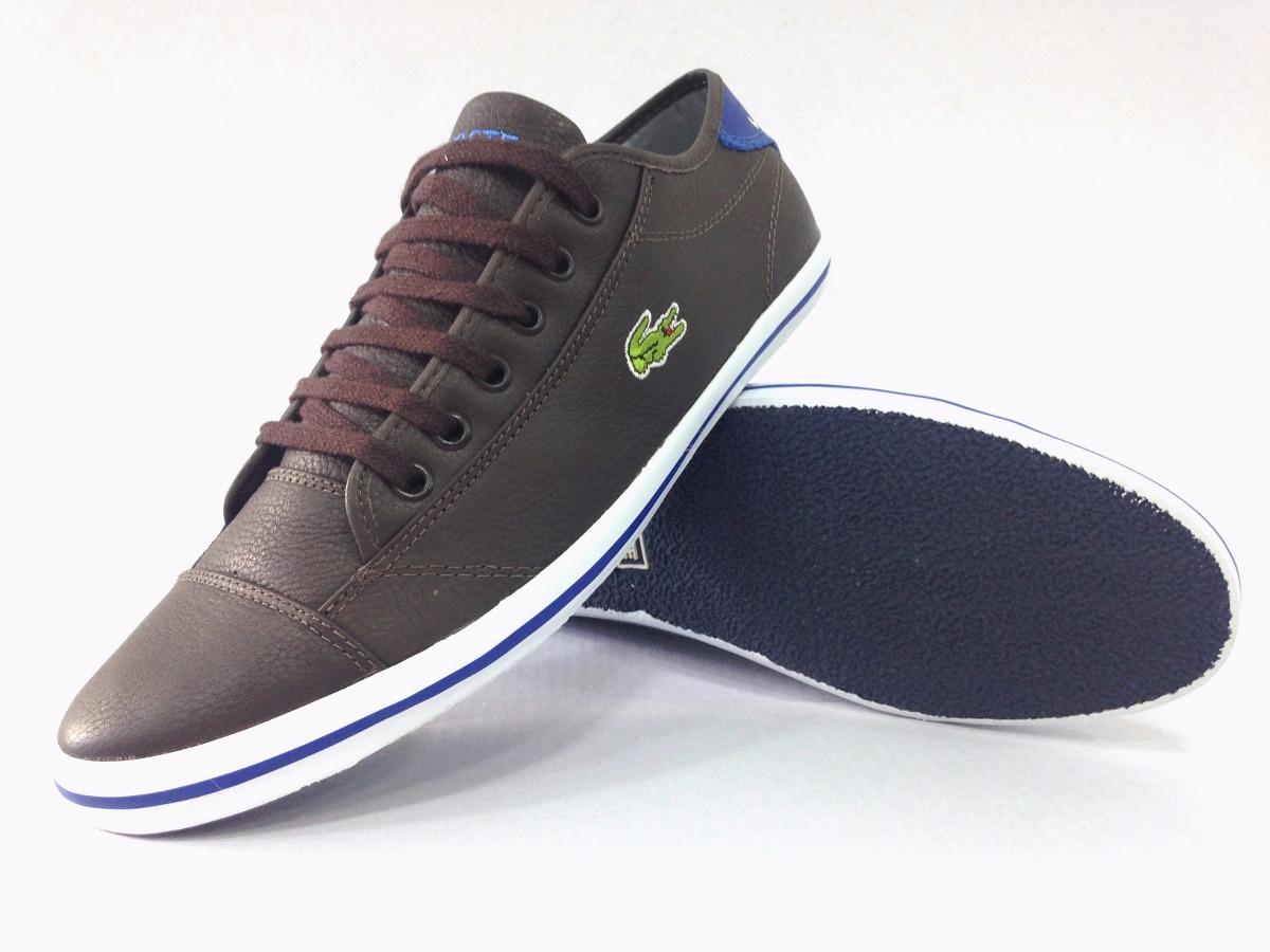 83d754f5a13de sapatenis tenis lacoste masculino de couro duas cores oferta. Carregando  zoom.