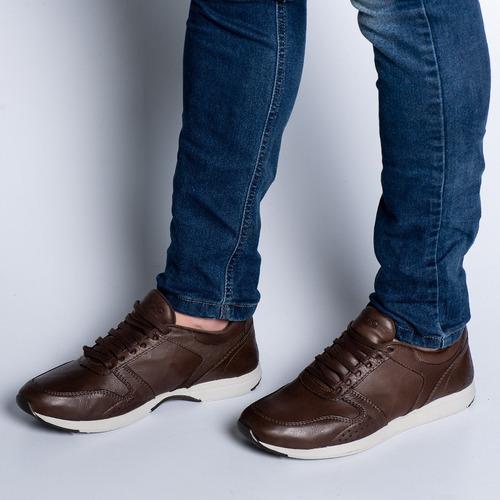 sapatenis tenis masculino couro legitimo sapato retro barato