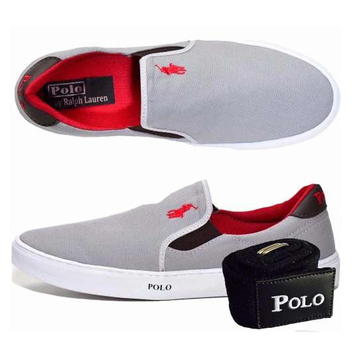 sapatenis tenis sapato masculino casual iate polo + 1 cinto. Carregando  zoom. edae3fb0ad8