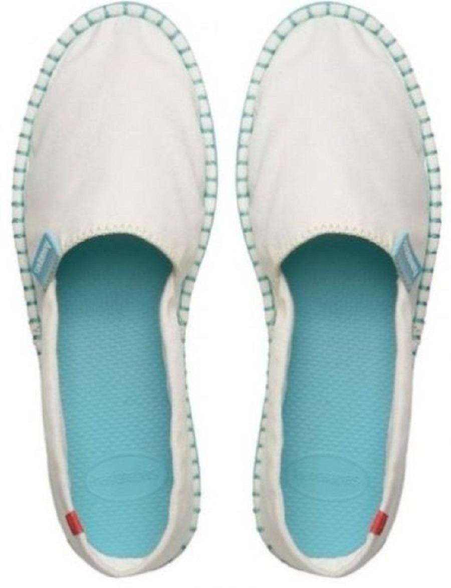 ecafbc58c0cee sapatilha alpargatas havaianas branca comemorativa. Carregando zoom.