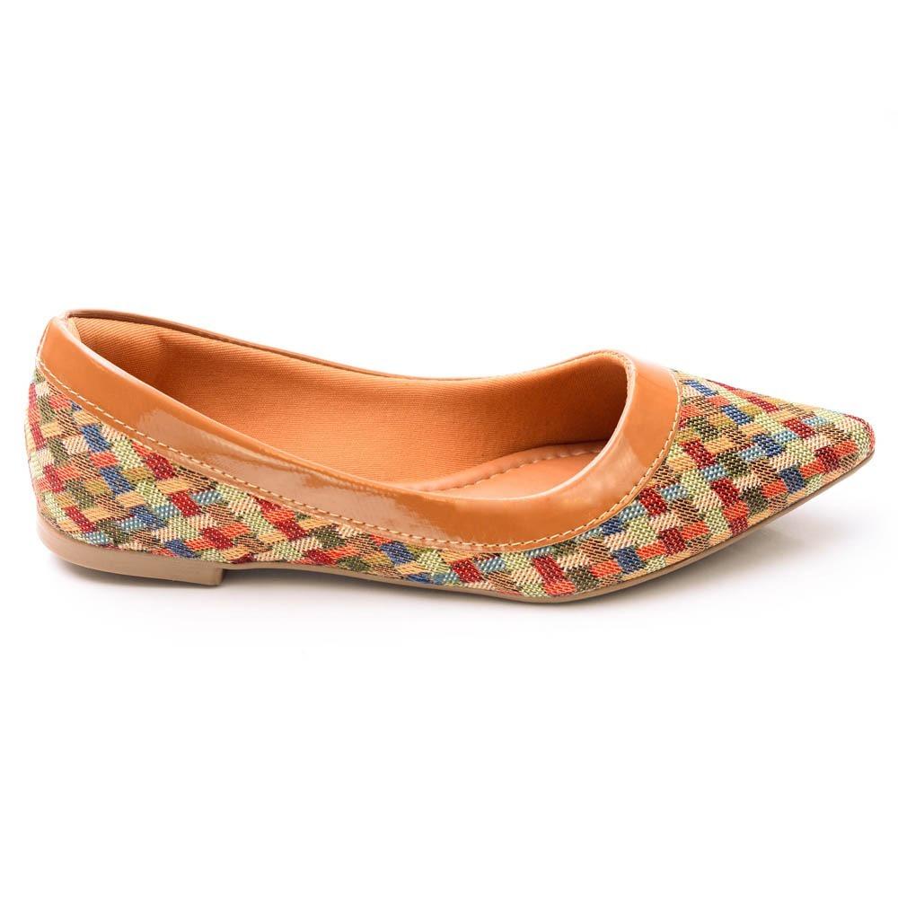 473d5f6bb9 sapatilha bico fino colorida. Carregando zoom.