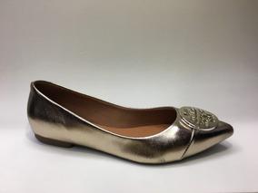 b7c72661a3 Sapatilha Bebece Bico Fino - Sapatos Dourado escuro no Mercado Livre Brasil