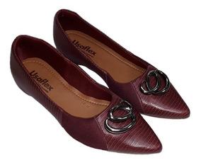 d8cac95e9 Sapatos Especiais Para Quem Tem Joanetes Usaflex - Sapatos com o Melhores  Preços no Mercado Livre Brasil