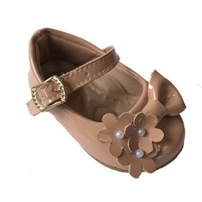 9ce57e4700 Sapatilha De Boneca Miss Western Flores Marrom - Sapatilhas no ...