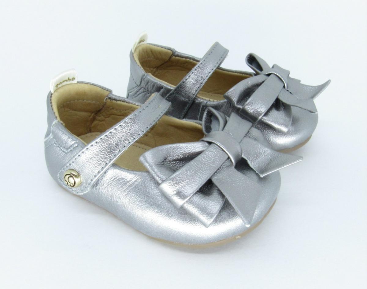 921fdb7b1d sapatilha boneca gambo laço cristal prata velho. Carregando zoom.
