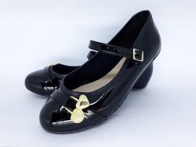 f8287f8076 Sapato Boneca Preto Infantil Meninas - Sapatos no Mercado Livre Brasil