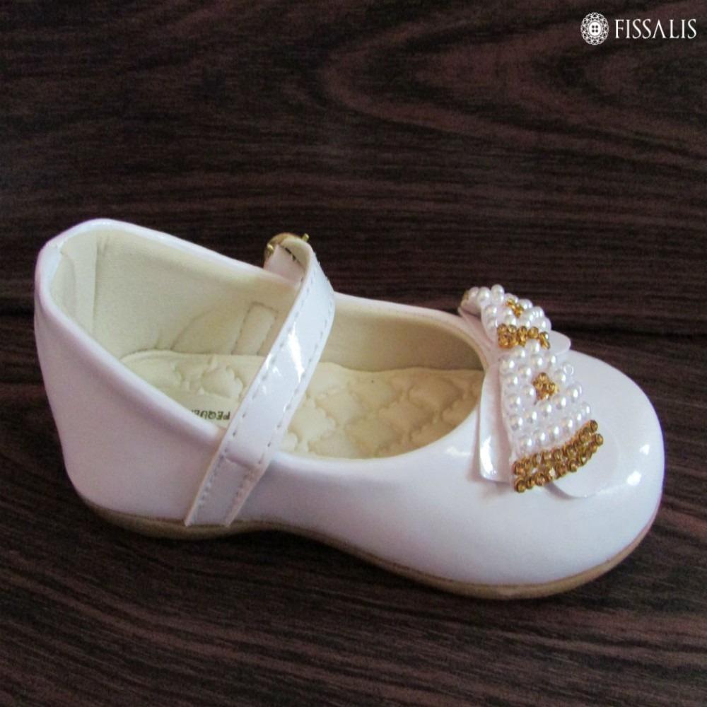 a7d2f6d326 sapatilha branca batizado infantil festa luxo. Carregando zoom.
