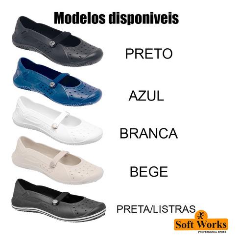 sapatilha calçados de segurança soft works epi bb50 eva