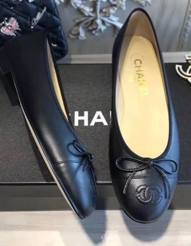 79cdb948a Sapatilha Chanel Couro Lambiskin N.36 - Frete Grátis - R$ 745,48 em ...