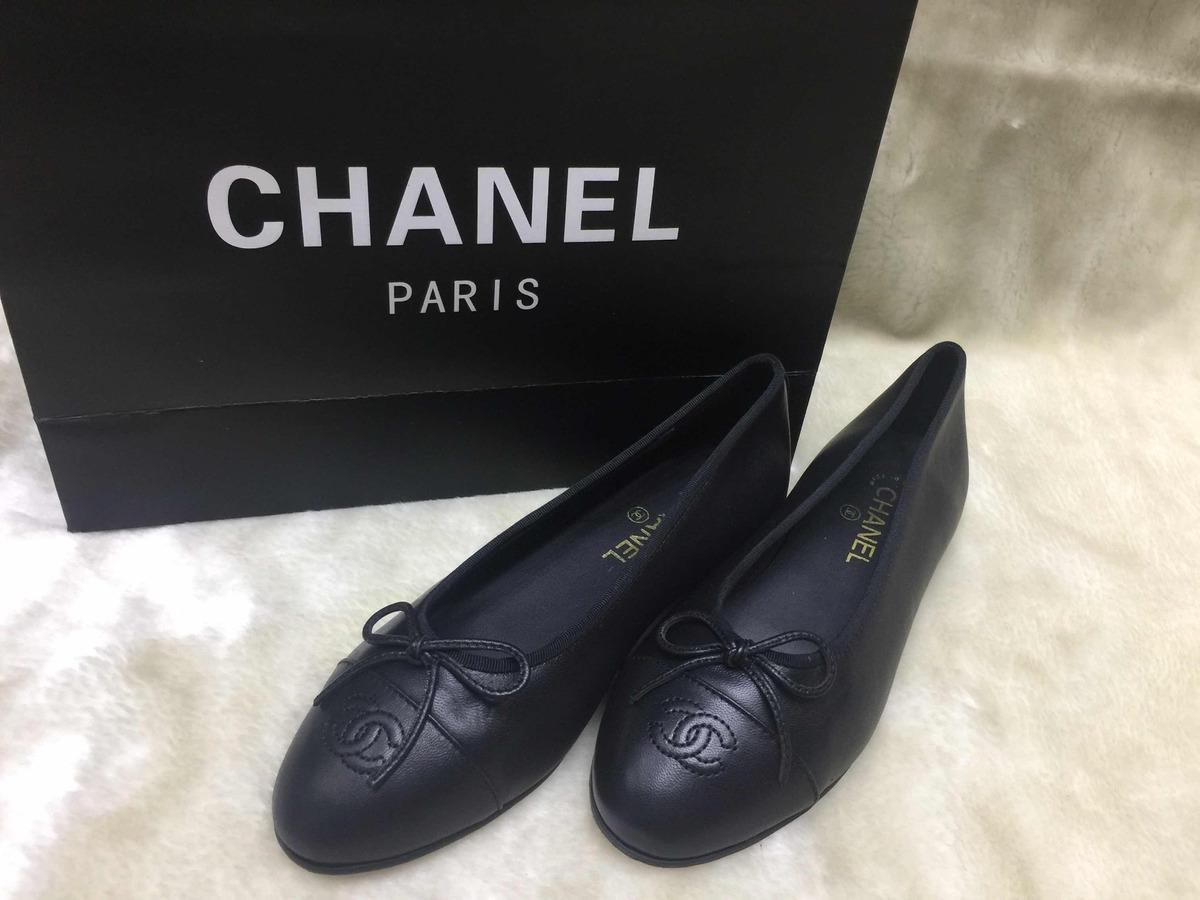 8770e7233 Sapatilha Chanel Couro Legítimo - R$ 499,00 em Mercado Livre