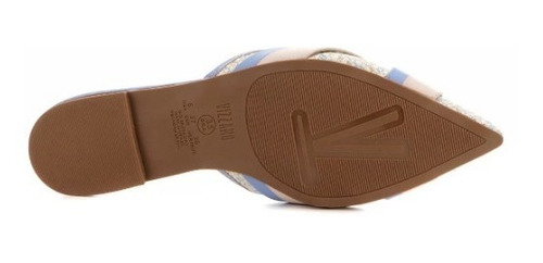 sapatilha chinelo mule vizzano jeans 1269.122 trama azul