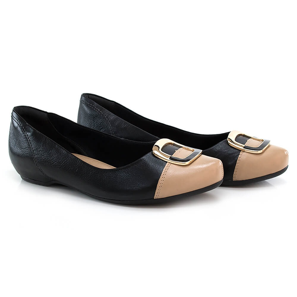 5db33cbcc sapatilha comfortflex em couro - vanda calçados. Carregando zoom.