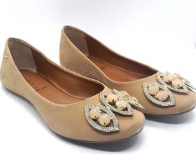 a85fd56c7f Sapatilha Bico Fino Pedraria Carmem Stefhany - Sapatos no Mercado ...