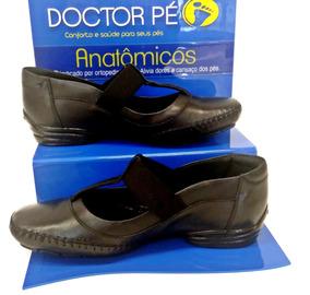 c579ab6e2 Sapatilha Em Couro Doctor Pé - Sapatos no Mercado Livre Brasil