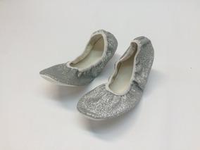 8e18a6873b Sapatilha De Ballet Com Glitter - Sapatilhas no Mercado Livre Brasil