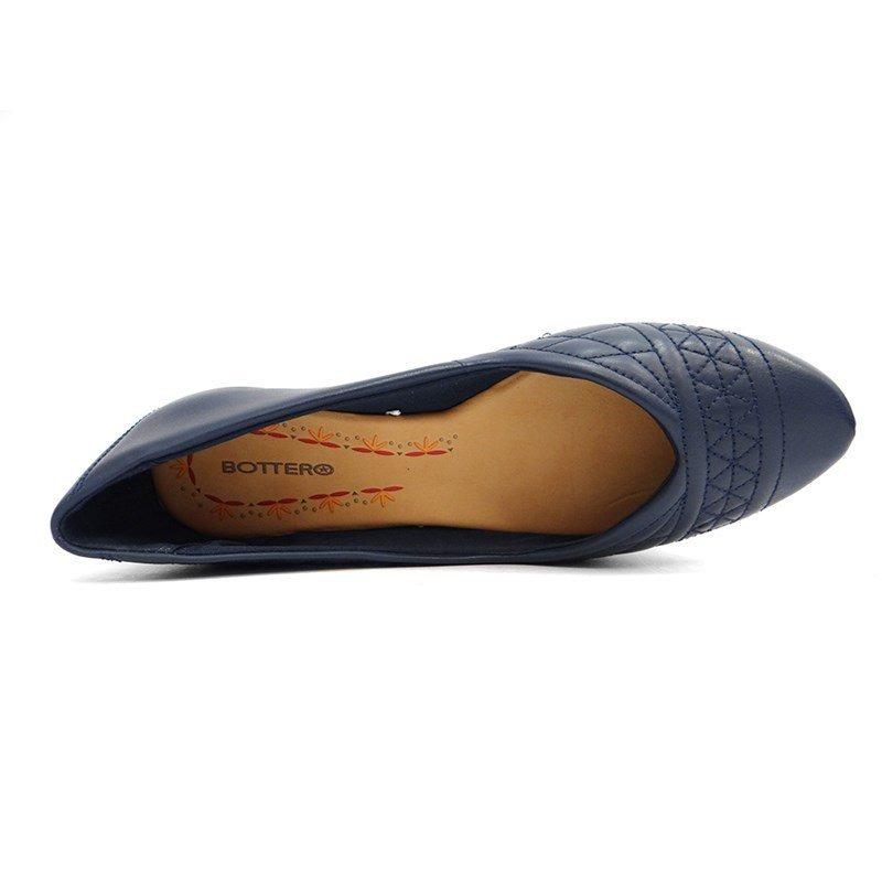 043e073d0a sapatilha de couro feminina 298102 - bottero (20) - marinho. Carregando  zoom.