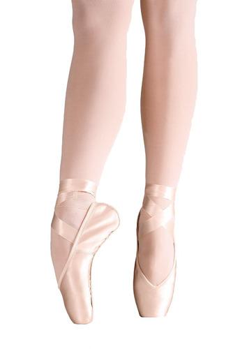 sapatilha de ponta só dança toshie rosa largura c sd40 caixa
