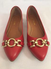 a12ee5f0ff Sapatilha Feminina Vermelha Sapato Barato Promoção