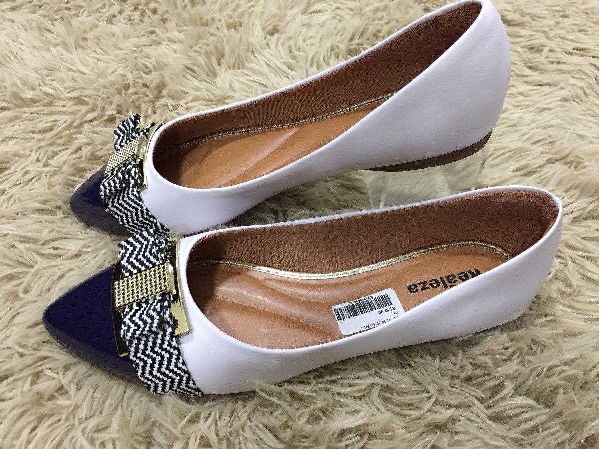424877adc0 Sapatilha Feminina Bico Fino Confort Calçados Femininos Chic - R$ 59 ...
