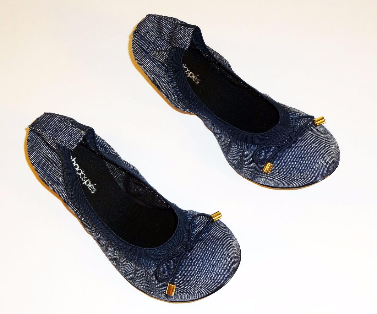 53e3429a725 sapatilha feminina com elástico jeans sonho dos pés. Carregando zoom.