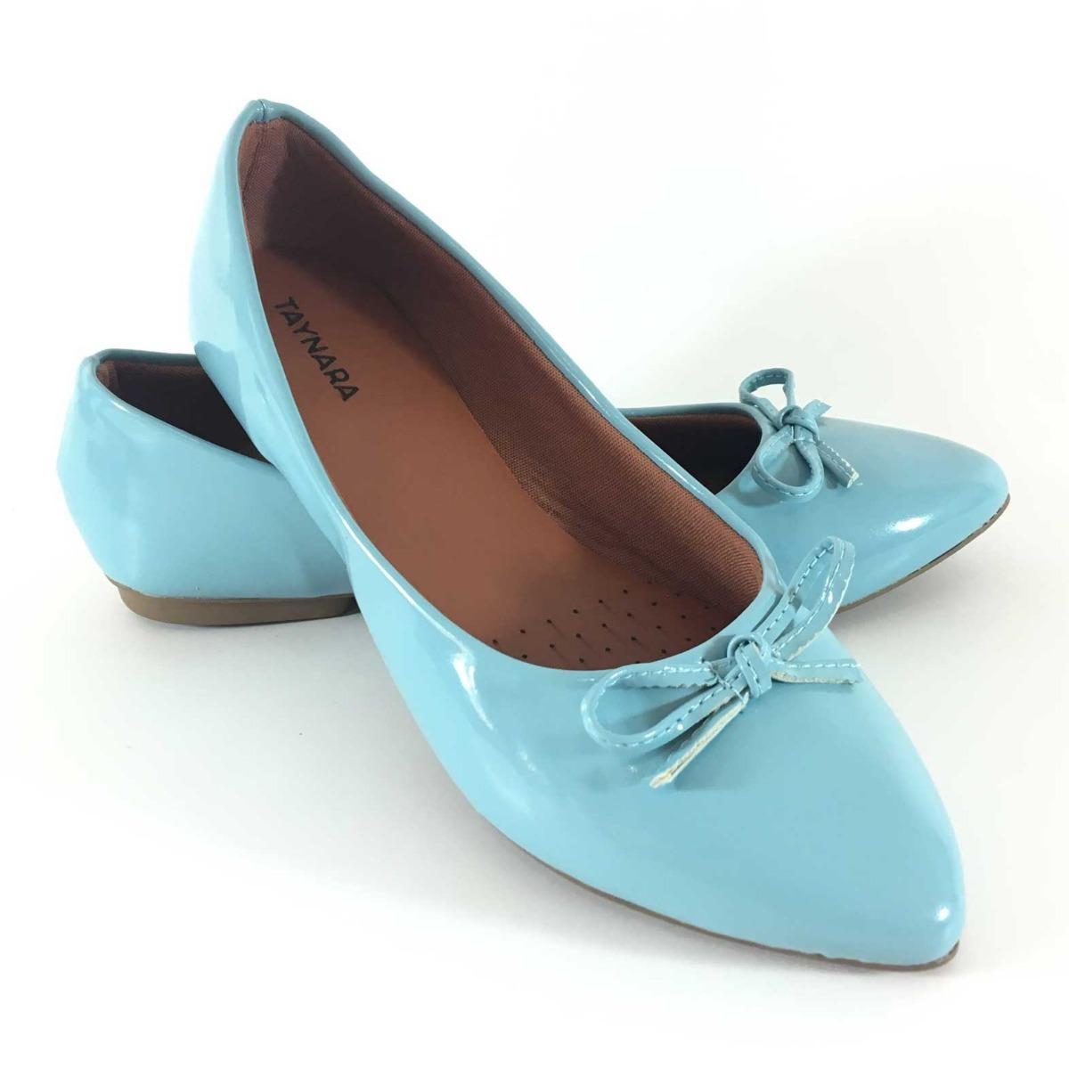 ddb28244dd sapatilha feminina com laço azul bebe. Carregando zoom.