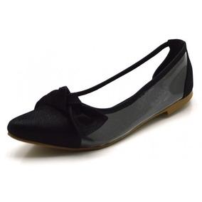 08c62ac08c Sapato Social Bico Fino De Luxo Feminino - Sapatos no Mercado Livre ...