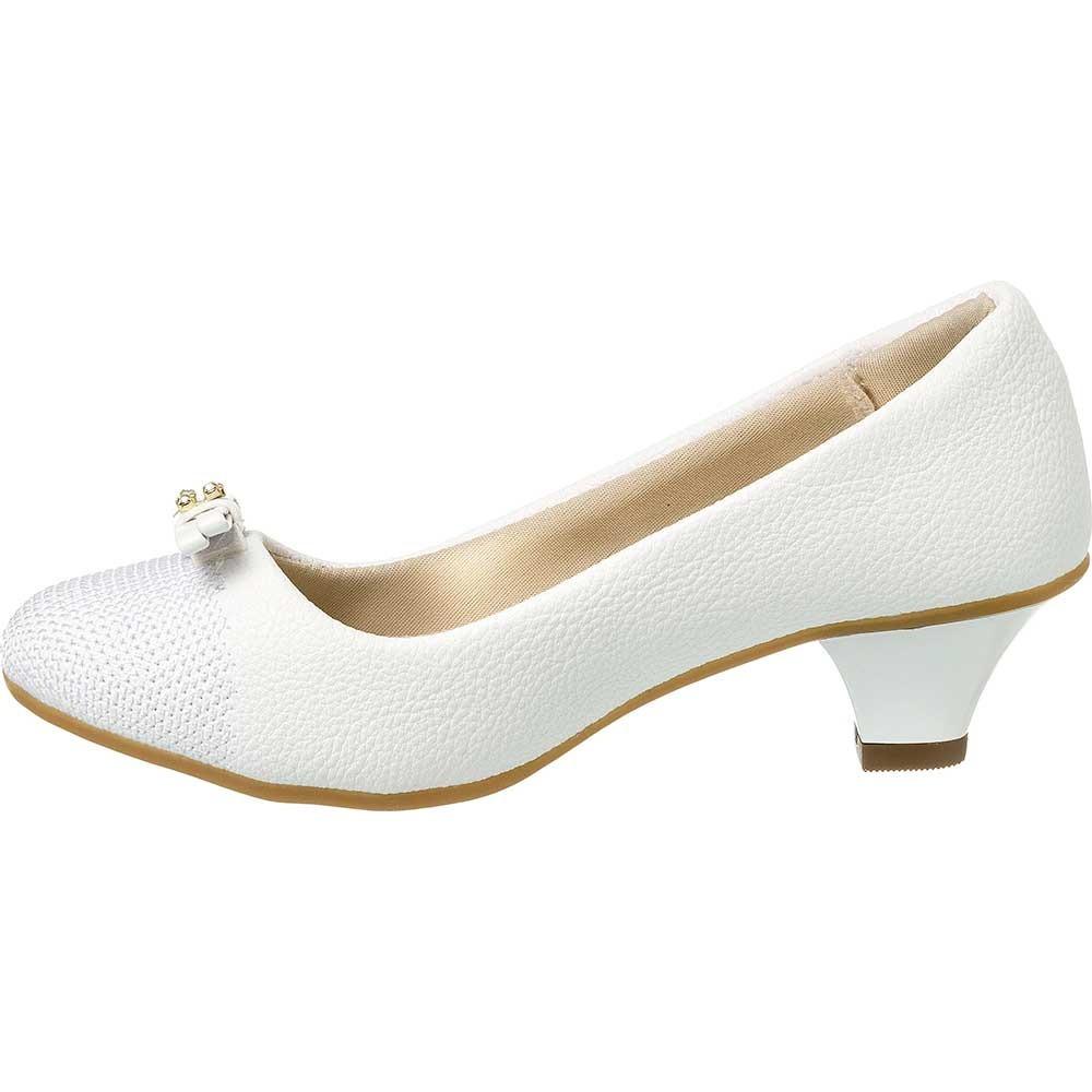de25b8383 sapatilha feminina infantil branca salto dedinho do pé 78001. Carregando  zoom.