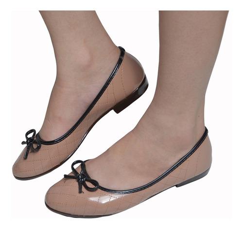 sapatilha feminina kit 4 pares sbelta estilo moleca conforto