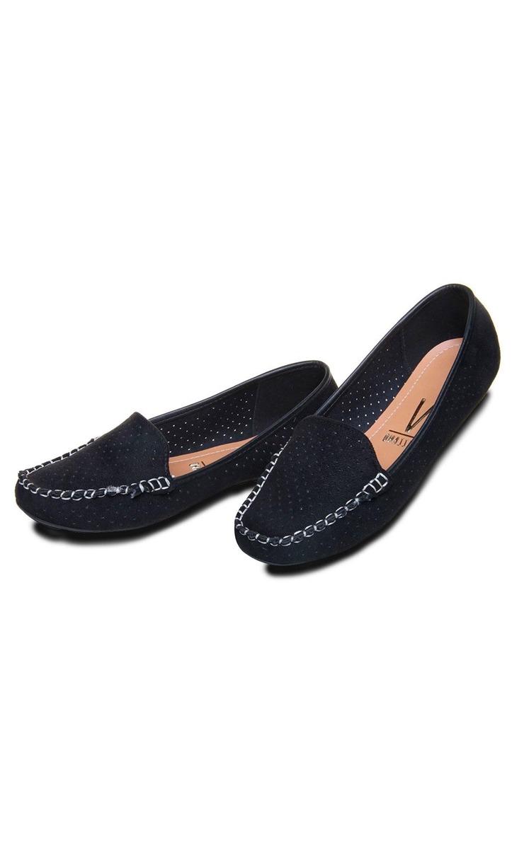 318da7cda2 sapatilha feminina mocassim em camurça vizzano preto. Carregando zoom.