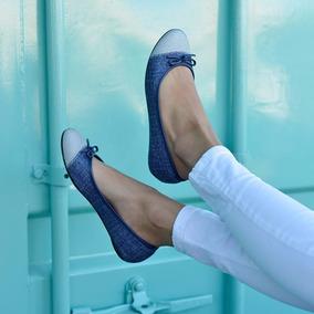 883142f53b Sapatilha Feminina Moleca 5263247 Jeans Prata Original