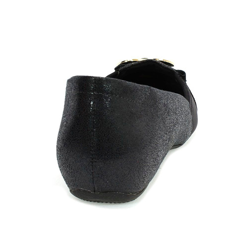dae7ddb26 Sapatilha Feminina Neoprene Preta Comfortflex - R$ 113,91 em Mercado ...