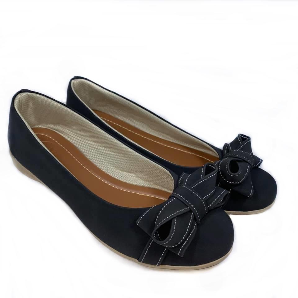 534fae68202 sapatilha feminina preto sapato calçados femininos laço moda. Carregando  zoom.