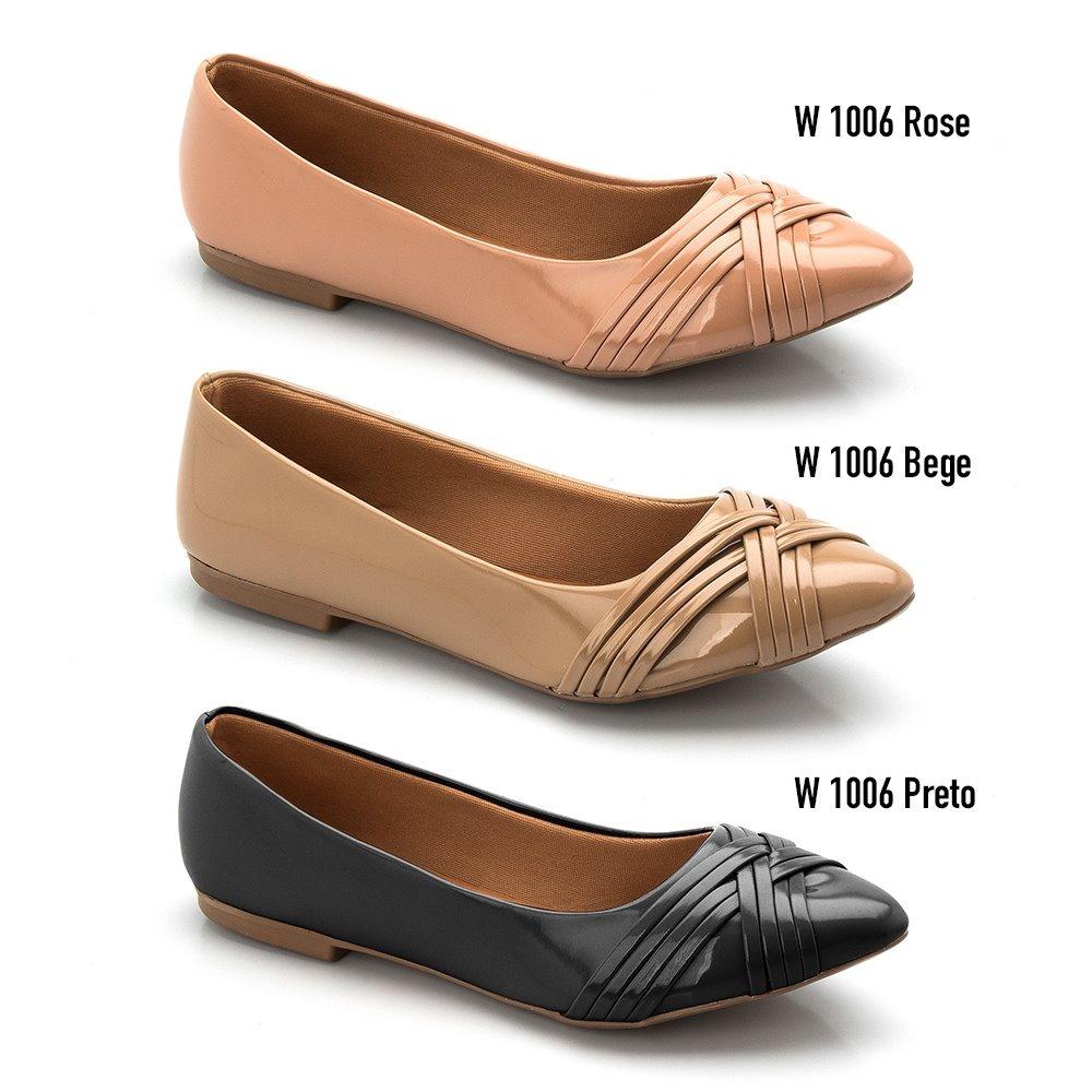 898326777a Carregando zoom... sapatilha feminina rasteira direto da fábrica modelo  arezzo