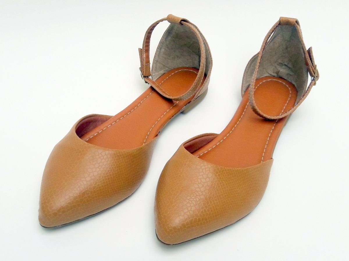 0c059b82a2 sapatilha feminina rasteira salomé couro sandalia bico fino. Carregando  zoom.
