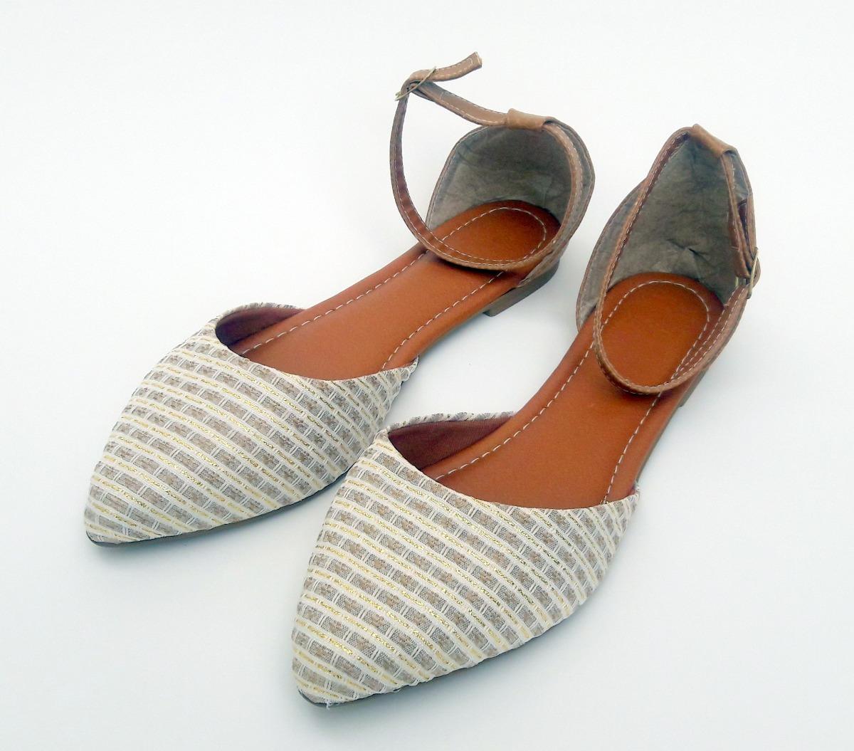 634ab1e732 sapatilha feminina rasteira salomé sandalia bico fino. Carregando zoom.