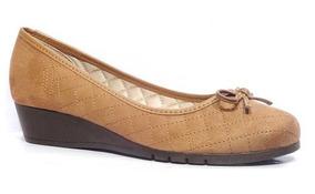 573a638dcf Sapato Anabela Amarela Neon Feminino Sapatilhas Moleca - Sapatos no ...