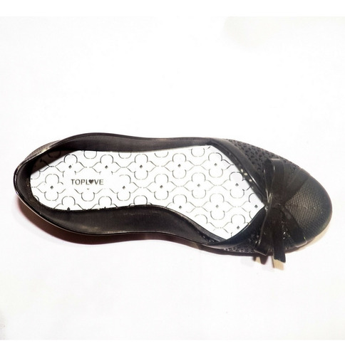 sapatilha feminina top love preta
