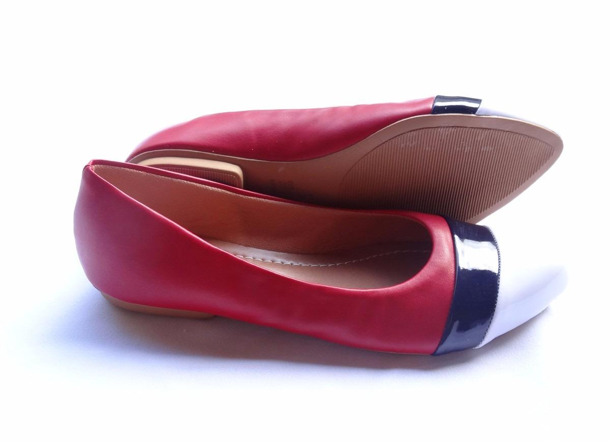 6e1c887296 sapatilha feminina verniz vermelha direto da fabrica atacado. Carregando  zoom.