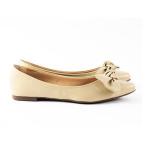 f3c8b74886f Sapatilha Bico Fino Laço Nude - Sapatos no Mercado Livre Brasil