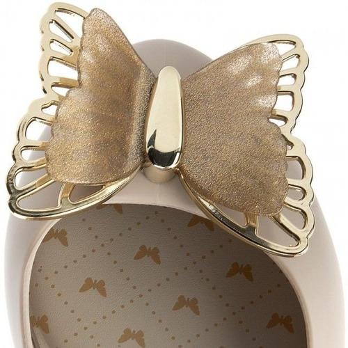 sapatilha feminina zaxy butterfly bege - 82403
