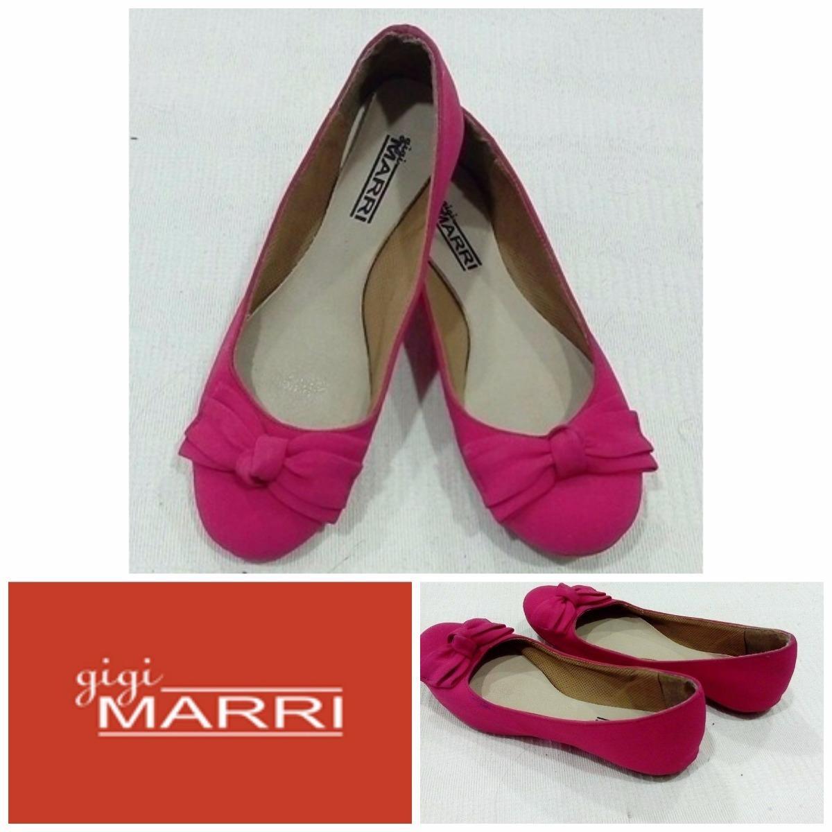 6db5d1a55a Sapatilha Gigi Marri Nº 34 - Semi Nova - Cor Pink - R  16