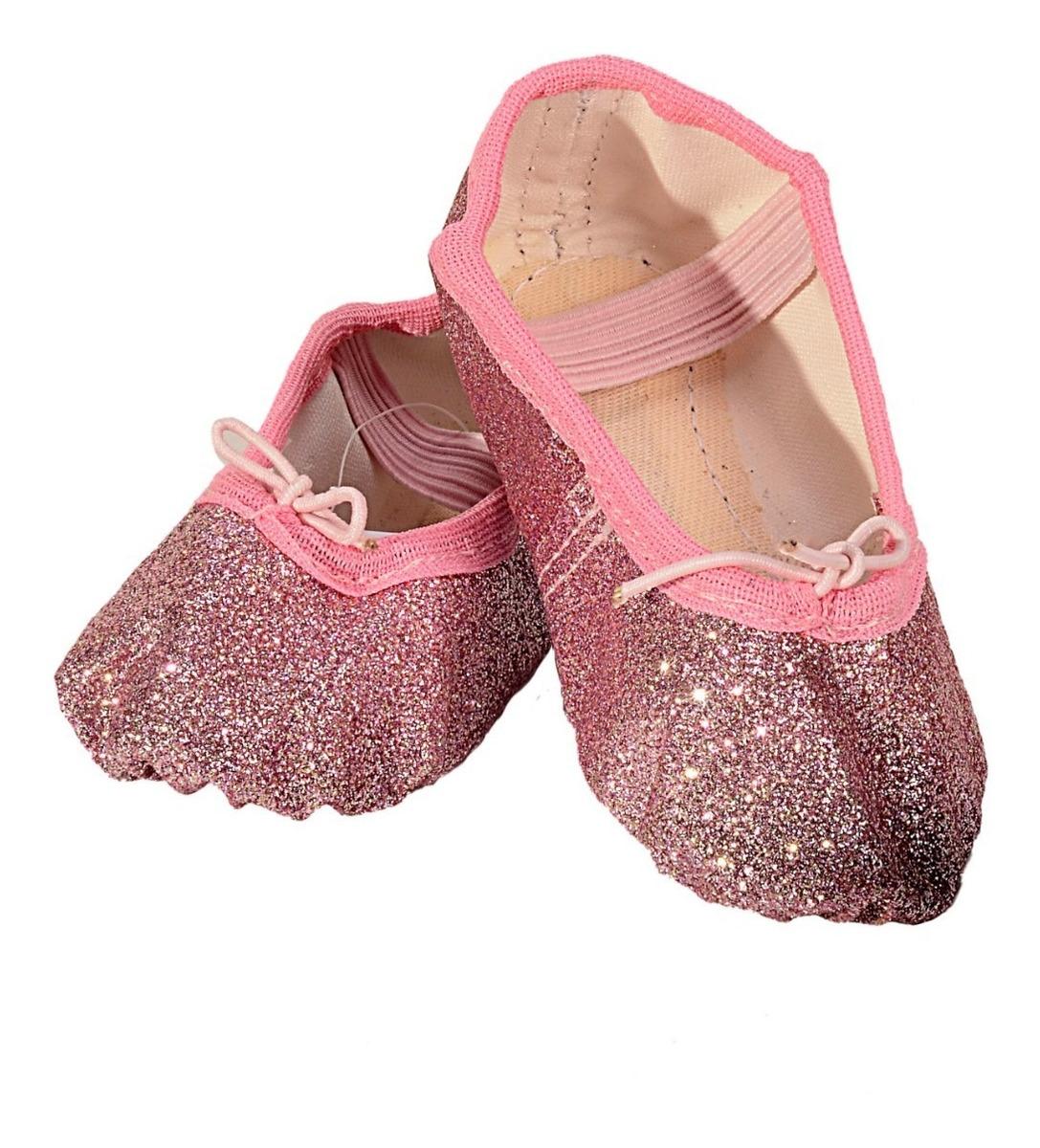 fb697725c34fe Sapatilha Glitter Ballet Infantil Cores - R$ 65,00 em Mercado Livre