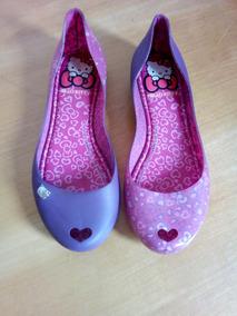 9652cd8d89 Sapatilha Hello Kitty - Sapatilhas no Mercado Livre Brasil