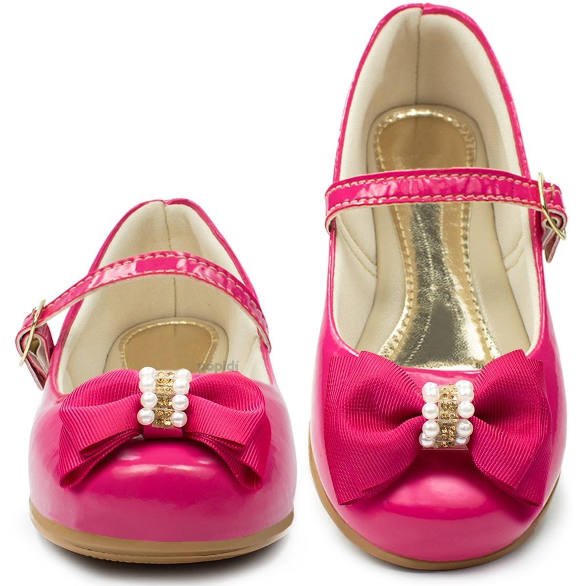 6fc7ee0ddc sapatilha infantil feminina menina sapato criança rasteira 7. Carregando  zoom.