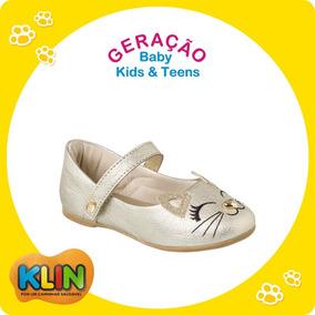 759042bfab Sapatilha Klin Princesa Baby - Sapatos no Mercado Livre Brasil