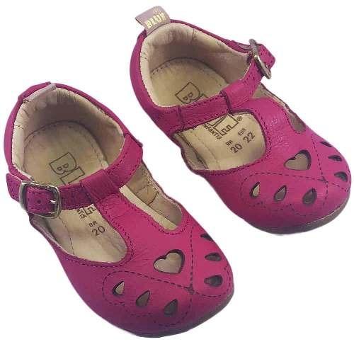 ef489a4f38 Sapatilha Infantil Lara Coração Pink Blue - R  165